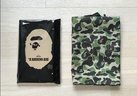 100% Original Bape 2019 Summer Collection Camo Sling Bag box set