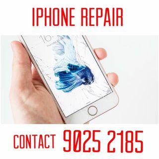 Home Repair. IPhone Crack Screen Replacement, iPhone battery