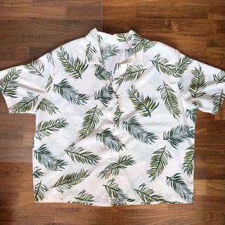 tropical button top
