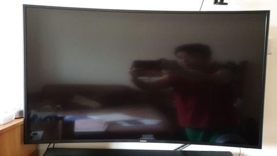 """Samsung Curve TV 48"""" 4k TV UA48JU6600"""