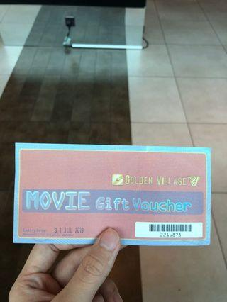 Golden Village GV Movie Voucher