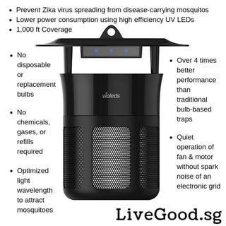 (KOREA) MOSclean UV LED Mosquito Trap