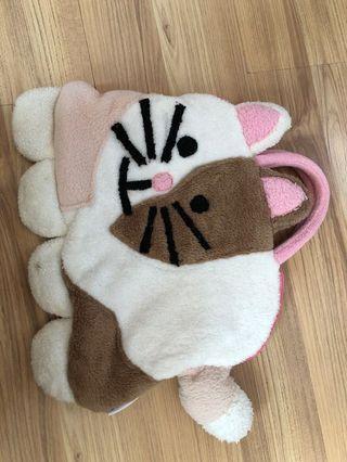 Cute Furry Cat handbag