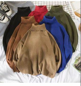* LIMTED EDITION * Men High Neck Sweater