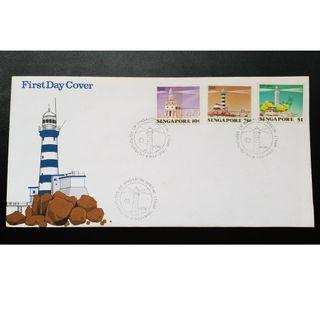 """1982 Singapore First Day Cover - """"Lighthouses of Singapore - Special Stamp Issue"""""""