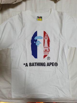 Bape Paris T Shirt