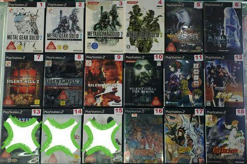 二手PS2遊戲NTSC-J (#Part:4) (#詳細價錢請參考內文)