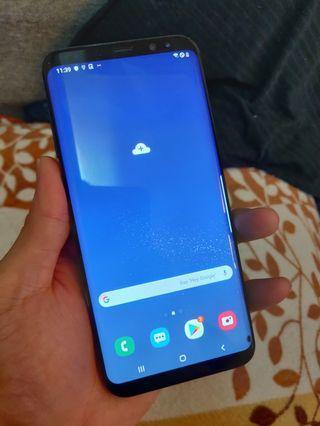 Samsung s8+ 128g/6g (one tiny Black dot)