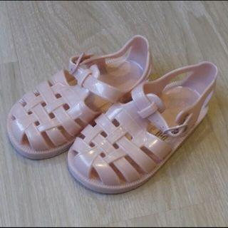 Pink jelly shoes Sandals
