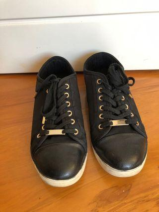 Aldo black sneakers