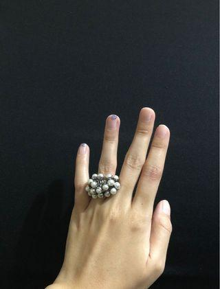Brand new Swatch Dress Pearl fashion Ring accessory from Japan outlet