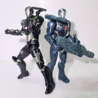 兩隻 War Machine 戰爭機器 Marvel Legends MK 2, Hasbro Mark 4, Avengers Infinity War Endgame