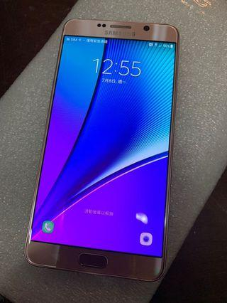 Samsung Note5 32GB rose gold