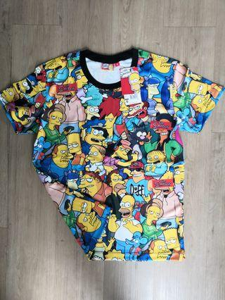 Simpson TShirt Original Full Print Multicolor