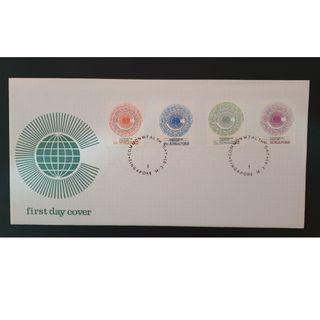 """1983 Singapore First Day Cover - """"Singapore Commonwealth Day"""""""