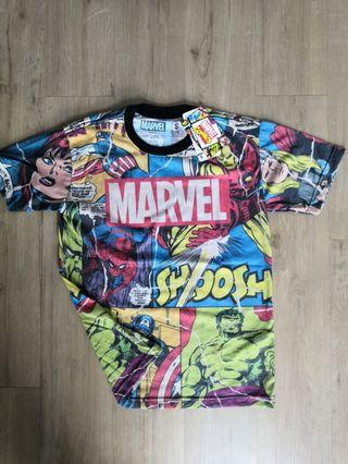 Marvel MultiColour FullPrint TShirt Original