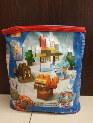 Paw patrol ,Jake's Cabin block Set