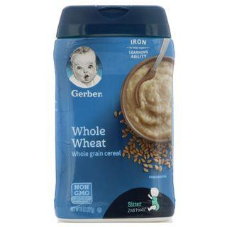 Gerber, Whole Wheat Cereal / Rice Grain Cereal / Multi Grain Cereal, 227 g