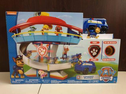 Paw Patrol Look-out Tower playset