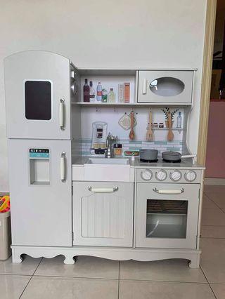 Vintage style Big Kitchen Playset / Mainan Dapur Set