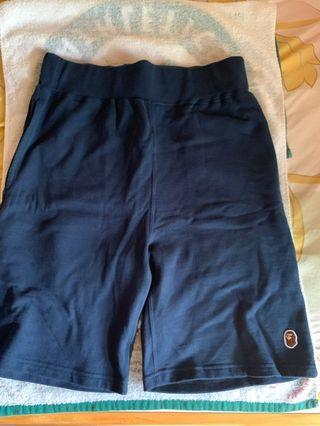 全新Bape 男裝深藍色短褲