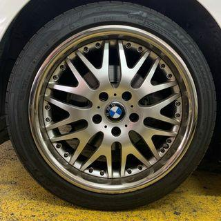 BMW 3 Series Runflat Staggered Wheels (Swop Only)