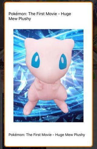 Huge Mew Pokemon Soft Toy (Toreba)