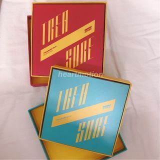 ATEEZ(에이티즈) Mini Album - TREASURE EP.3: ONE TO ALL [ILLUSION / WAVE VER] UNSEALED version