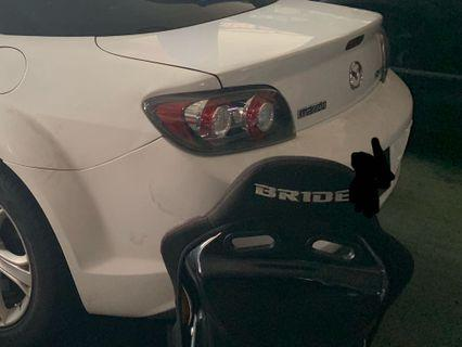 Mazda RX-8 bodykit parts for sale. ( all parts require swap)