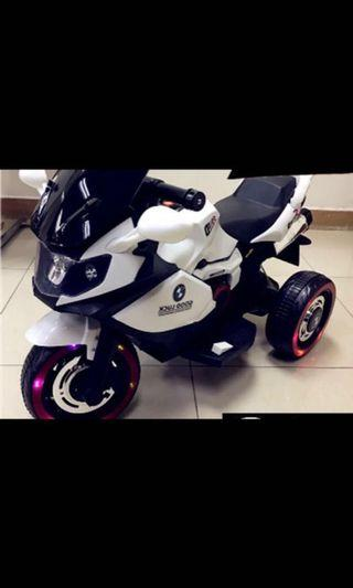 Kids Ride On BMW Electric Motorbike Bike rechargeable lighted wheels