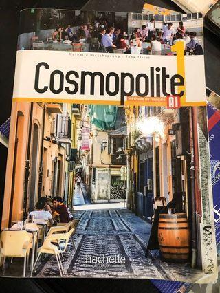 Cosmopolite 1法文課本