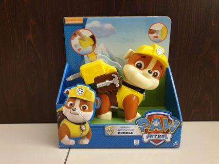 Paw patrol jumbo action pup-Rubble