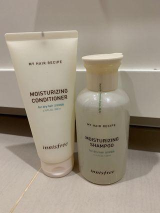 Innisfree Hair Care (Shampoo + Conditioner)