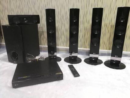 Home Theater LG( completed set)