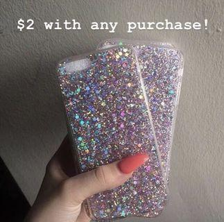 Pink Glitter Phone Cases