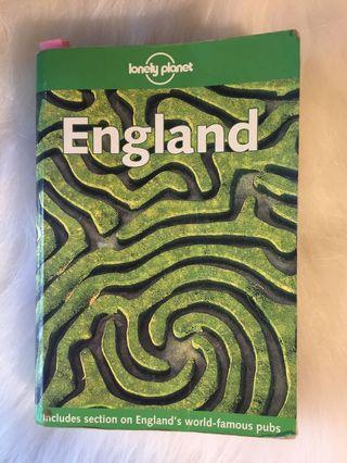 🚚 Lonely Planet: England 2001 1st edition