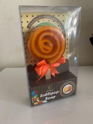 Herb Basics Lollipop Soap-Orange
