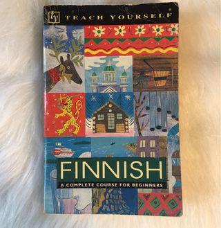 🚚 芬蘭語自學書:Teach Yourself Finnish