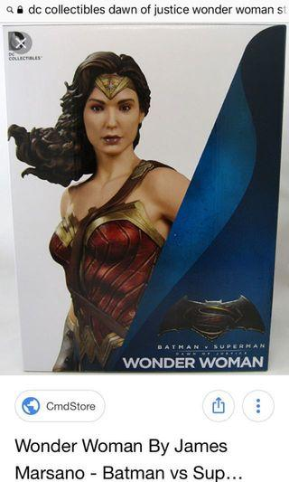 Dc collectibles dawn of justice wonder woman statue