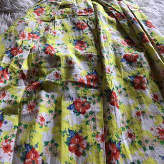 Floral Skirt import bangkok
