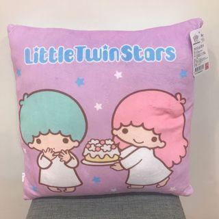 正版 三麗鷗雙子星點心時間抱枕 午安枕 枕頭 午睡枕 靠墊 靠枕 生日禮物 情人節禮物 雙子星週邊