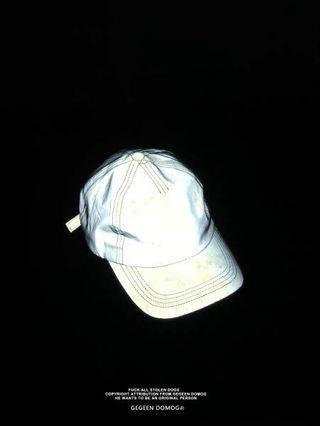 ❤️全新Gegeen Domog原創設計可調節灰色3M反光鴨舌帽
