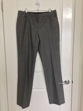 Saba grey wide leg work pants 14