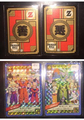 Dragonbal cards