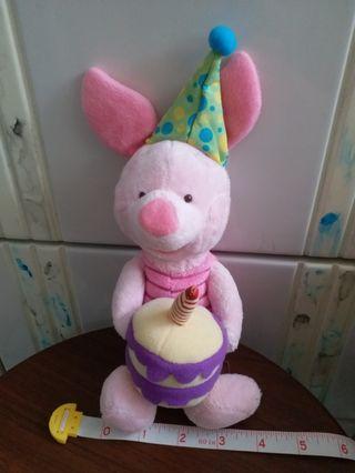 Disney Piglet (小豬) Celebrating 80 years of adventures 手有磁貼毛公仔