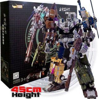 Transformers Jinbao Oversize Bruticus Warbotron giftset