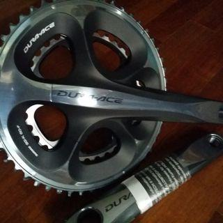 Shimano Dura Ace 7950 10 Speed Road Compact Crankset