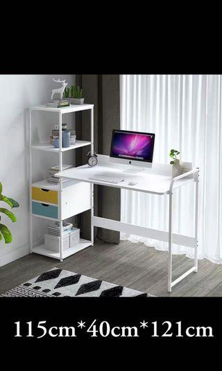 Study table/ computer table with display shelf