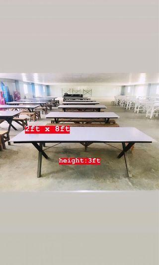 Canteen Table Set with 2 benches