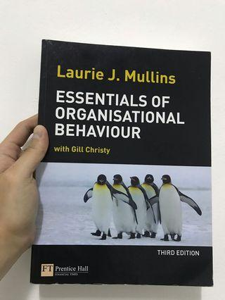 "Buku psikologi ""Essentials of Organisational Behaviour"""